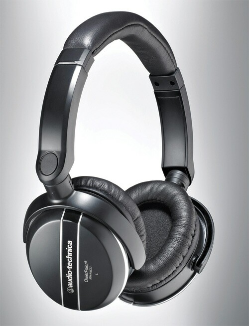 Audio-Technica ATH-ANC27 Quietpoint Noise-Cancelling Headphones