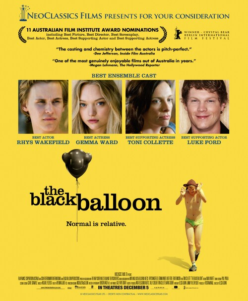 the black balloon movie review Find helpful customer reviews and review ratings for the black balloon at amazoncom read honest and unbiased product reviews from  a movie that tells the truth .