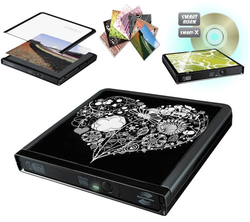 Lite-On eNAU608 Slim External DVD Drive