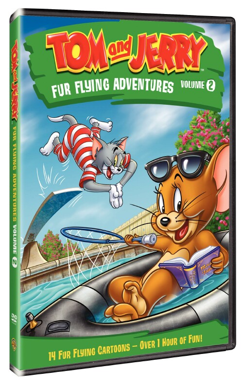 Tom and Jerry Fur Flying Adventures Vol. 2