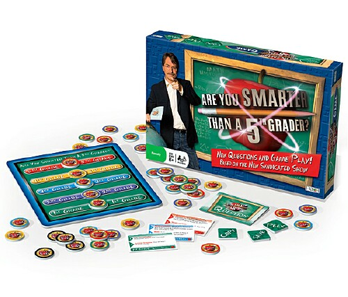 Are You Smarter Than a 5th Grader? Game from Hasbro - YouTube