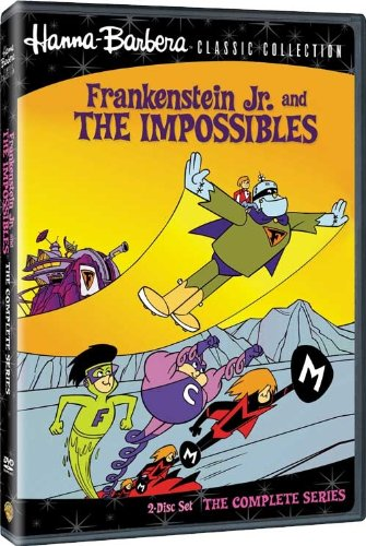 Frankenstein Jr. and The Impossibles The Complete Series DVD