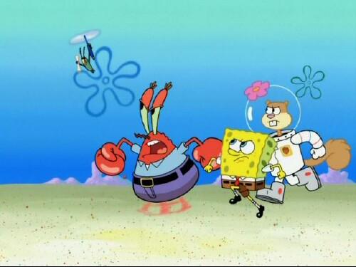 Spongebob's Frozen Face Off