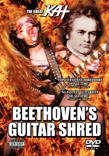 The Great Kat: Beethove's Guitar Shred