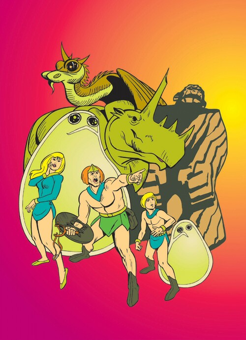The Herculoids The Complete Series DVD