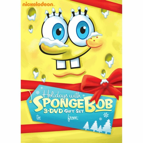 Holiday with SpongeBob 3-DVD Gift Set