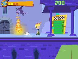 Johnny Test Video Game on the Nintendo DS