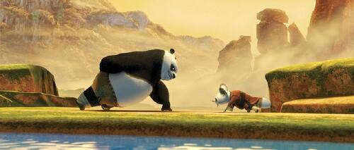 Ultimately  Po beats Tai Lung  Kung Fu Panda Po And Shifu