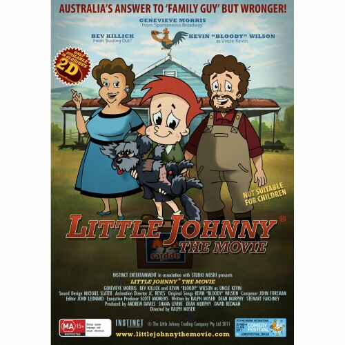 Little Johnny The Movie DVD