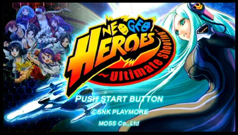 neo geo Heroes Ultimate Shooter PSP