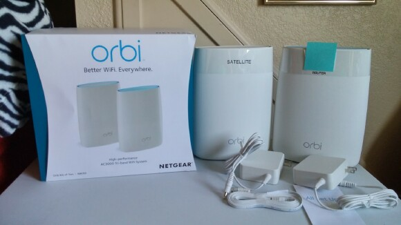 Netgear Orbi Ac3000 Tri Band Wi Fi System Review The