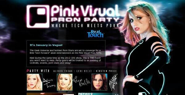 Pink Visual Pron Party