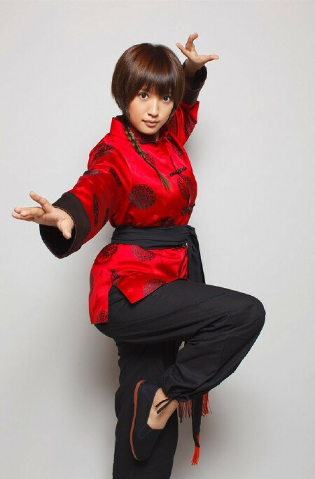 Natsuna as Ranma girl-type