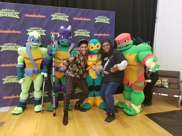 Rise of the Teenage Mutant Ninja Turtles NYC Showcase   The