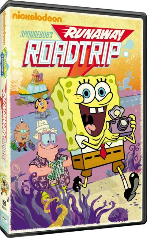 SpongeBob's Runaway Roadtrip DVD