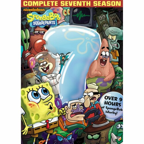 SPongeBob SquarePants 7th Season DVD