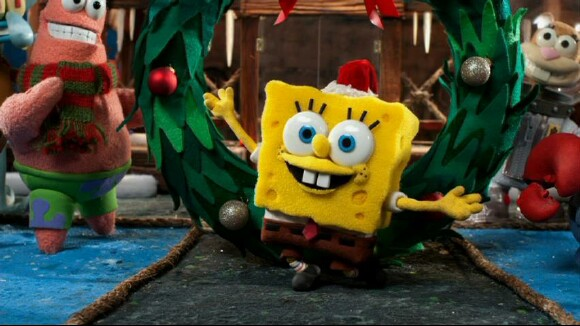 spongebob squarepants christmas special theme song