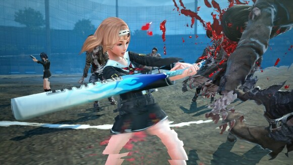 School Girl/Zombie Hunter