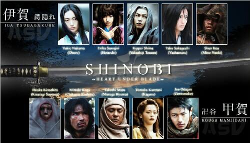 Шиноби: Сердце под лезвием