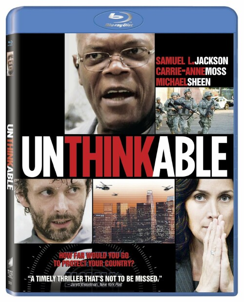 Unthinkable Blu Ray Box