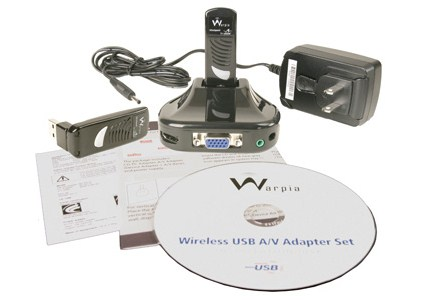 Warpia USB PC to TV Audio/Video Display Adapter