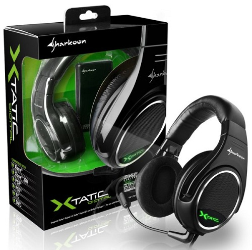 Sharkoon X-Tatic Digital Surround Sound Headset