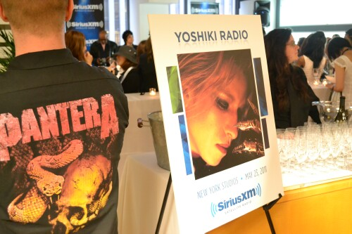 Yoshiki Radio on Sirius XM